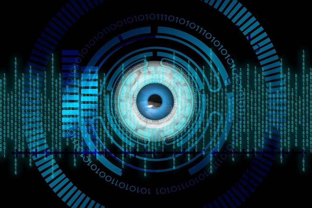 Biometrics eye scanning